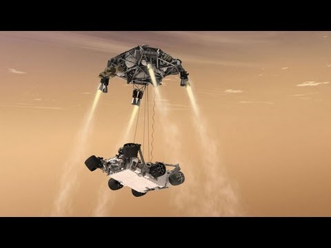 Mars Rover Curiosity Lands, and NASA Becomes Global Capital of High-Fives