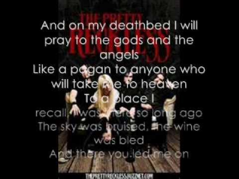 The Pretty Reckless-Like A Stone Lyrics (Audioslave cover)
