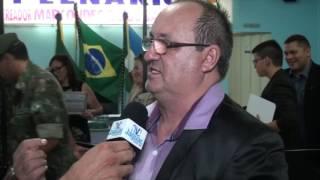 Flávio Costa fala da grande satisfação em receber a cidadania Quixereense