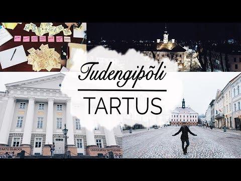 TUDENGIELU BUCKET LIST | Parimad aastad Tartu Ülikoolis!