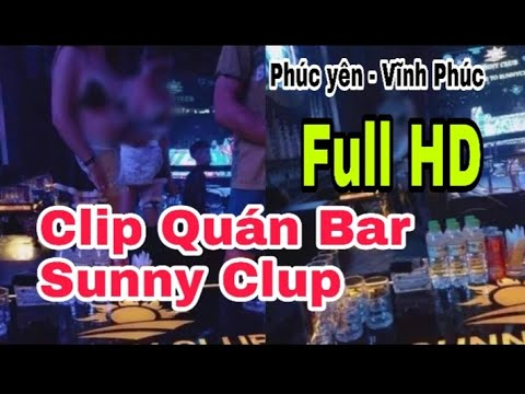 Clip quán bar