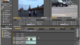 Adobe Premier  часть 2 глава 5 Монтаж фрагментов