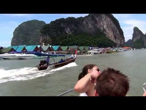 Пхукет , плавучая деревня морских цыган СУПЕР МЕСТО !!! Phuket, floating village of sea gypsies
