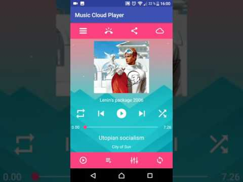Udacity Musical Structure - Cloud Music Player app
