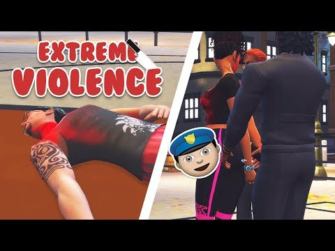 EXTREME VIOLENCE MOD UPDATE + INSTALL // GET ARRESTED, FRAME SIMS, and MORE // The Sims 4 Mods streaming vf