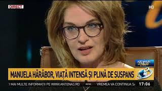 Adevăruri de viață: Manuela Hărăbor, actrița cu ochii cei mai frumoși, la Antena 3
