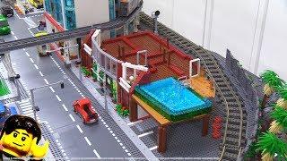 LEGO apartment MOC building progress part 2