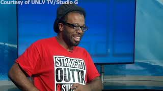 "Andy Feds on UNLV TV's ""Studio G"""