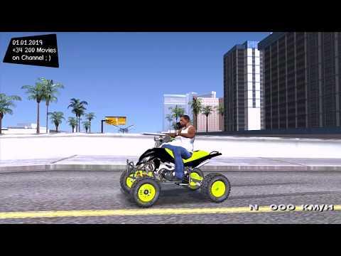 QUAD HONDA TRX-450 ✪ FREE TUNING SPEED price GTA Realistic Graphics