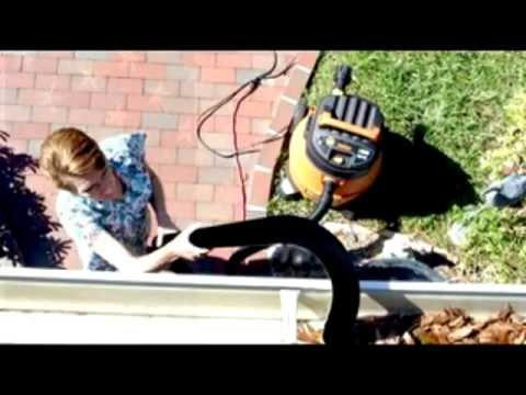 New Diversified Gutter Cleaning Tool Vacuum Out Or Blow