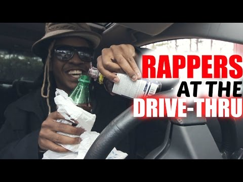 RAPPERS AT THE DRIVE-THRU Part 2