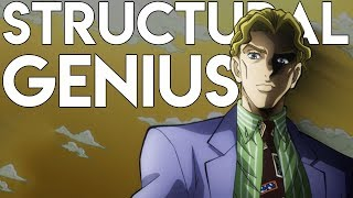 The Structural Beauty of Jojo's Bizarre Adventure: Diamond is Unbreakable