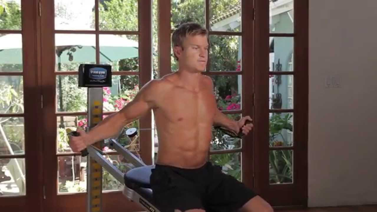John Peel Beach Body Chest With Total Gym Youtube