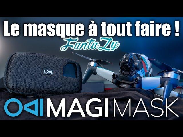 Magimask   Un masque FPV pour DJI Mini 2 / FPV ou les spectateurs !