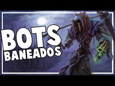 Oleada de BANS contra los Bots