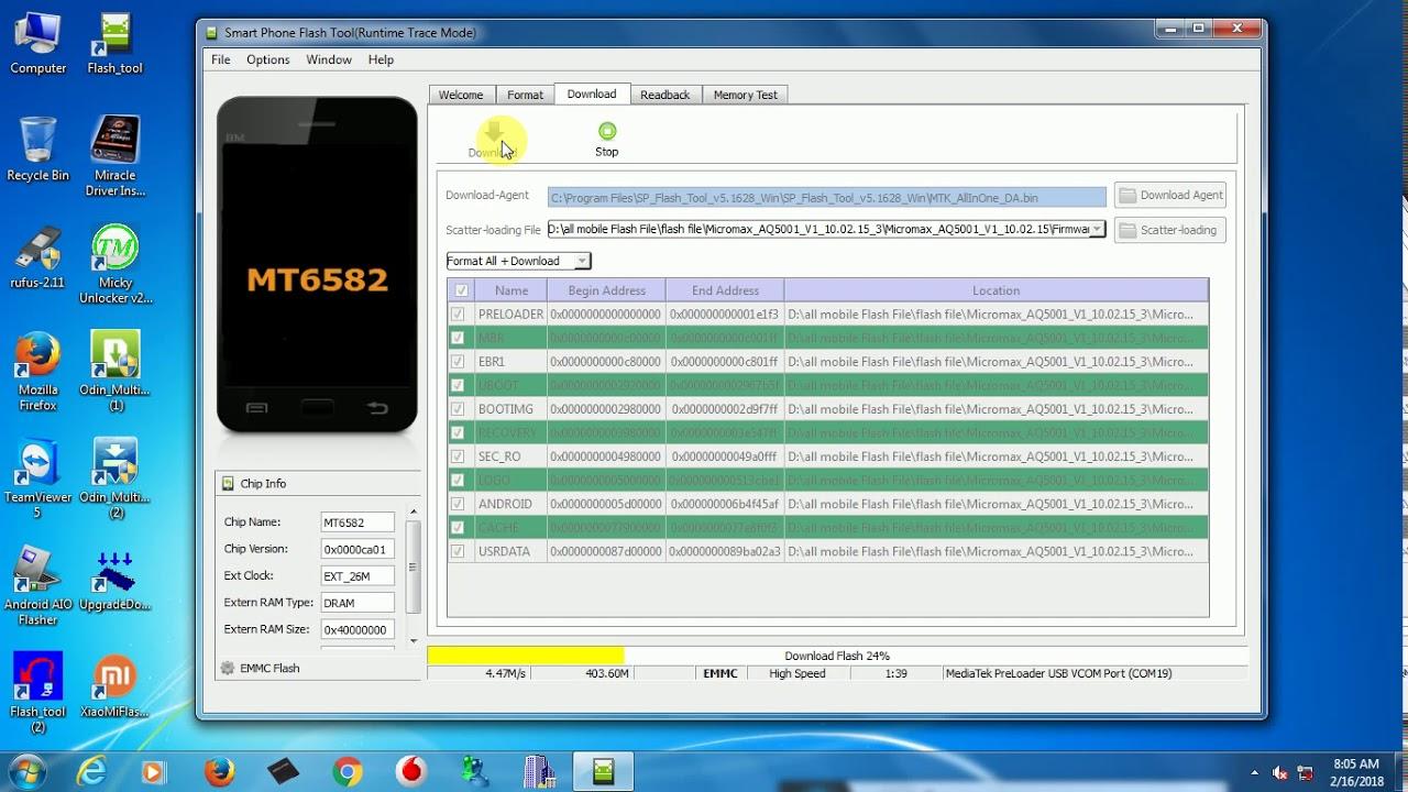 Micromax Aq5001 Flash File