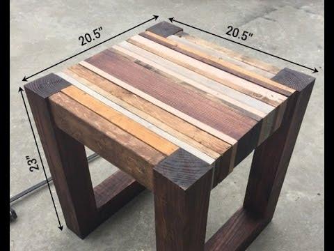 tisch selbst bauen diy tisch selber bauen tisch bauen holz youtube. Black Bedroom Furniture Sets. Home Design Ideas