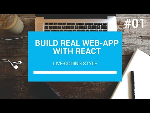 Build Real Web App with React #01
