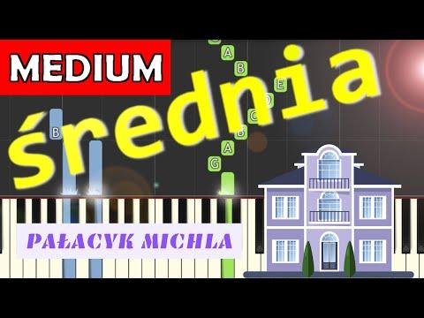 🎹 Pałacyk Michla - Piano Tutorial (średnia wersja) 🎹