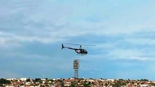 Duratex Botucatu utiliza helicóptero para transportar trabalhadores para evitar greve
