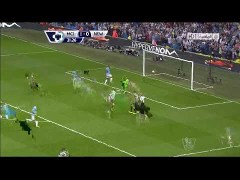 Manchester City 2-0 Newcastle United #First Half Goals [HD]