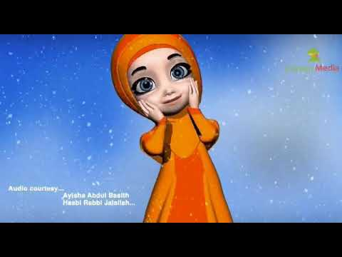Hasbi Rabbi Jallallah - Animated Version | Ayisha Abdul Basith