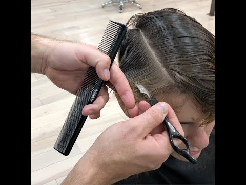 Mens Cutting How To Razor Cut Texture Taper Fade Youtube