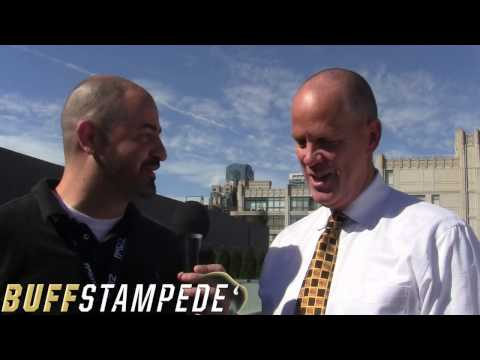 One-on-one with Tad Boyle