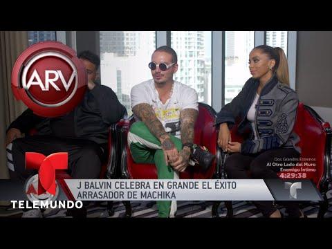 J Balvin logra millones de vistas por Máchika | Al Rojo Vivo | Telemundo