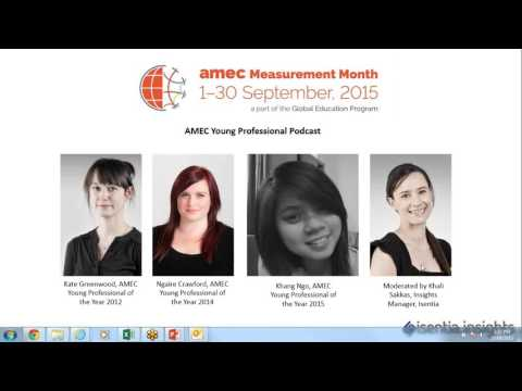 AMEC Measurement Month - Young Professional Podcast