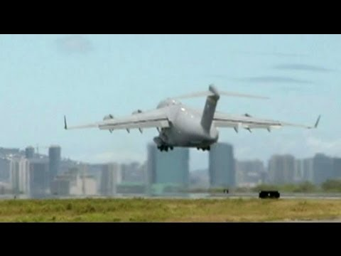 C-17 Taking Off From Hickam Air Force Base (2010)