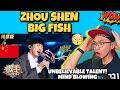 BIG FISH - ZHOU SHEN 🇨🇳 跟着周深的《大鱼》一起飞吧!顺着歌声溯洄最初的相遇 《歌手·当打之年》Singer 2020【湖南卫视官方HD】 (REACTION)