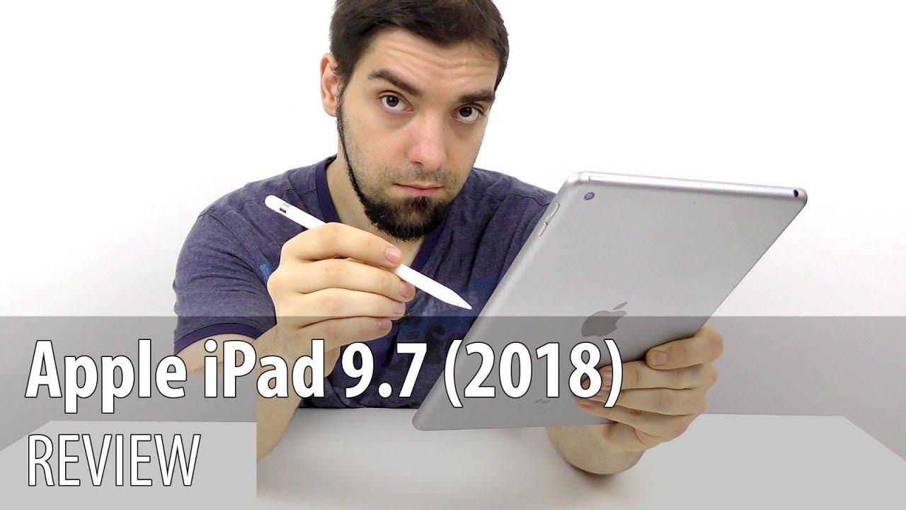 Apple iPad 9.7 (2018) Review în Limba Română (Apple Pencil Demo)