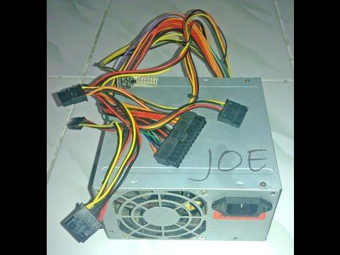 Cara Cepat Mengecek dan Memperbaiki Power Supply PC (Personal Computer)