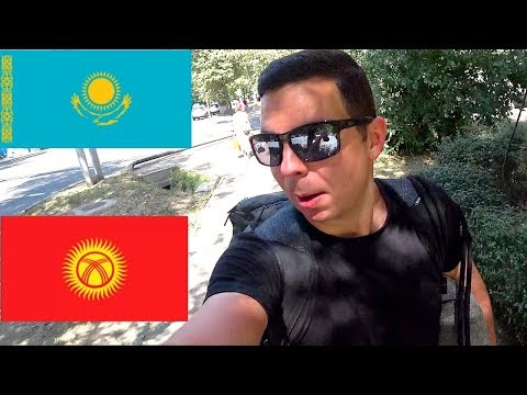 Traveling from Kazakhstan to Kyrgyzstan