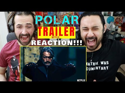 POLAR | Official TRAILER | Netflix - REACTION!!!