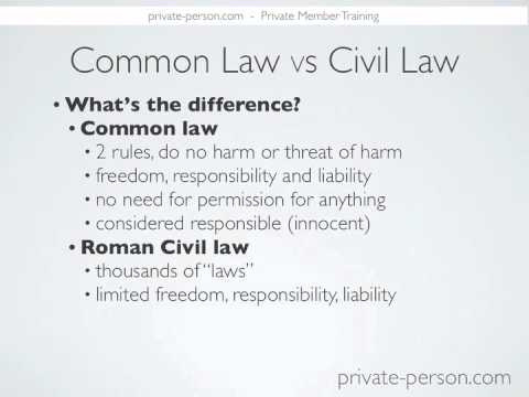 civil law