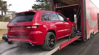 Unboxing: 2018 Jeep Grand Cherokee Trackhawk (exterior)