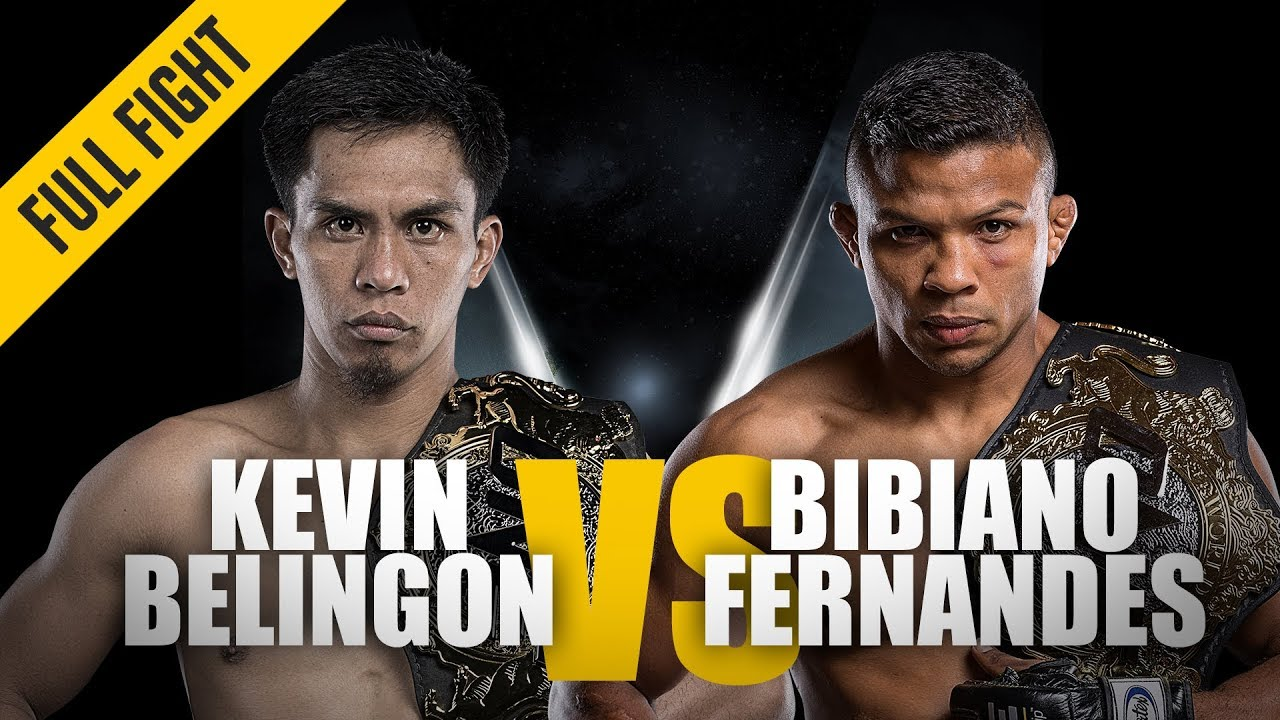 ONE: Full Fight | Kevin Belingon vs. Bibiano Fernandes | Undisputed Champion | November 2018