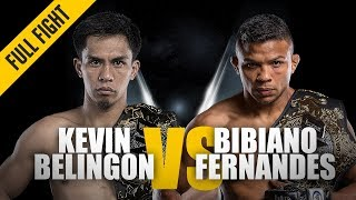 ONE: Full Fight | Kevin Belingon vs. Bibiano Fernandes 2 | Undisputed Champion | November 2018