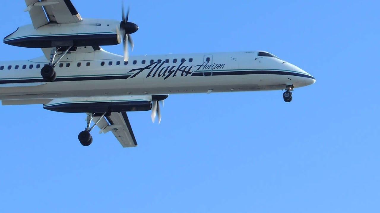 Alaska Airlines Horizon Bombardier Dch 8 Q400 N431qx