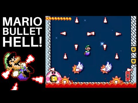 A Superb Touhou Level in Super Mario Maker 2