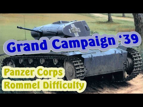 Panzer Corps 09 - Oslo; Grand Campaign 39, Rommel Difficulty