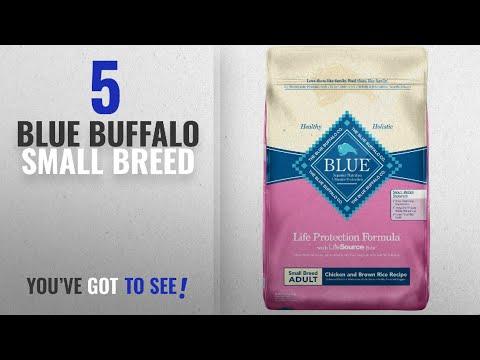 Top 5 Blue Buffalo Small Breed [2018 Best Sellers]: Blue Buffalo Small Breed Chicken & Rice Dog