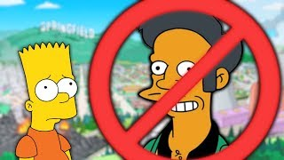 Apu Being REMOVED from The Simpsons?
