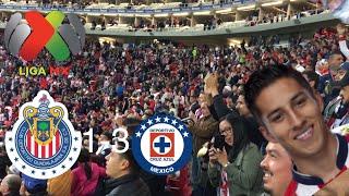 CHIVAS VS CRUZ AZUL 1-3 RESUMEN GOL JORNADA 2 LIGA MX 2018