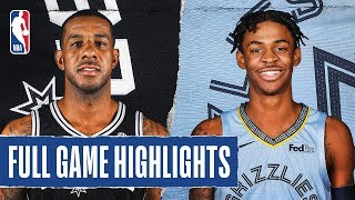 SPURS at GRIZZLIES | FULL GAME HIGHLIGHTS | December 23, 2019