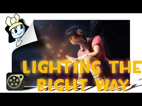 SFM Learning How To Light