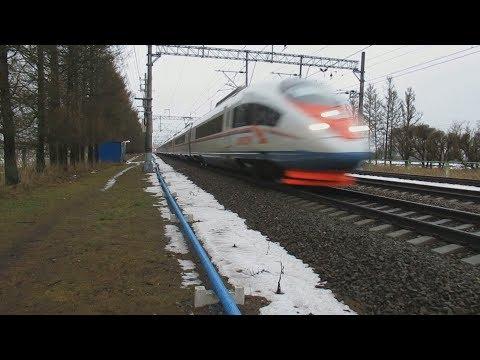 Главный ход ОЖД: Сапсаны, электрички, поезд №139 Санкт-Петербург – Брянск. Саблино – Тосно-2