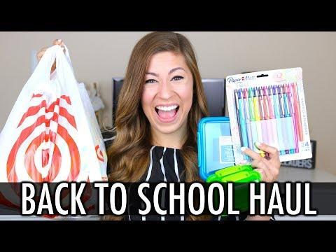BACK TO SCHOOL HAUL 2 - Target, Amazon, Dollar Tree, Big Lots | Pocketful of Primary